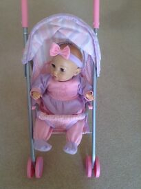 Graco interactive smart baby doll