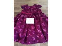 Baby Girls Party Dress Size 12-18 Months