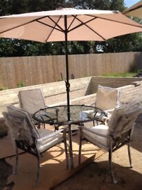 4 seater Lucca patio set