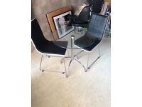 Harvey's chairs and table. Excellent condition