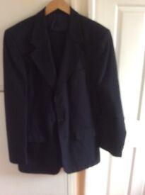 Gents Navy M&S Suit
