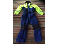 Fladen Flotation Immersion Suit Size Medium