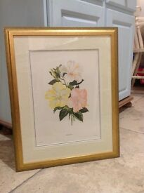 Beautifully Framed Flower Pictures - MUST GO!