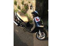 Peugeot Vivacity 125cc Sixties Moped/Scooter in great condition, only 311 miles from new