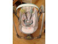 Ingenuity baby swing for sale