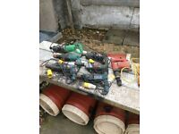Selection of 110v drills