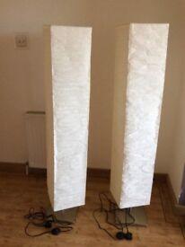 Floor lamps cream