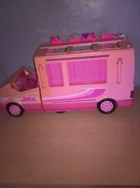 vintage barbie camper van accessories