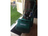 Qualcast petrol lawn mower for sale recently serviced