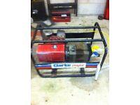 Clarke 8Hp petrol Generator 110/230V