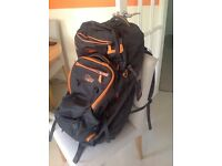 Lowe alpine double back pack. Plus large travelling cover. Never used.
