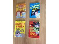 Horrid Henry book collection, David Walliams and other favourite