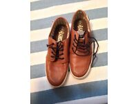 Superdry boat shoes size 10