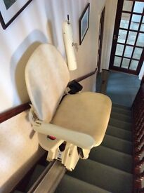 Snowdrop Independent Living straight stair lift