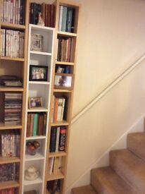 Useful unit for storing dvds, cds, paperbacks or ornaments