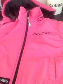 Pink hello kitty coat