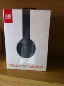 Beats Solo3 Headphones in original packaging