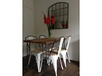 BARKER & STONEHOUSE INDUSTRIAL /BISTRO CHAIRS