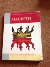 Oxfords schools Shakespeare Macbeth