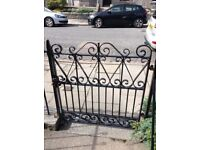 1 - off Garden Gates Galvanised - FREE - BUYER COLLECTS