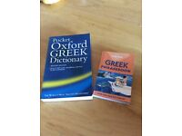 Greek dictionary and phrase book