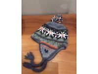 VGC Selection of Womens ladies Winter Hats Beanies (River Island Bear Cashmere)