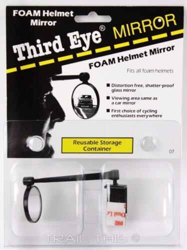 Third Eye Foam Helmet Bicycle Mirror Ultralight 8g 3rd Eye Made in USA