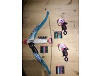 Nerf Rebelle bow and gun set