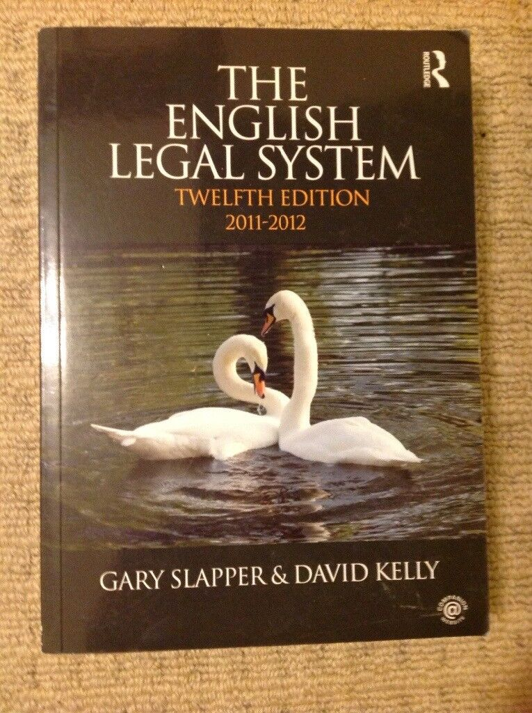 Law book, The English Legal System