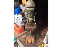 Very heavy duty pillar drill