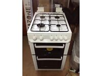 Zanussi Gas Cooker, Double Oven