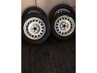 Steel wheels for ford transit connect