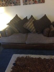 Large sofa. From Barker and Stonehouse