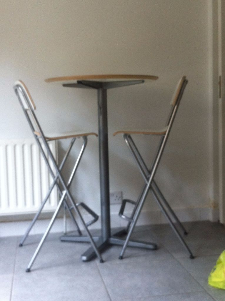ikea billsta bar table and 2x franklin bar stools in ladbroke grove london gumtree. Black Bedroom Furniture Sets. Home Design Ideas