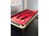 6' x 4' Slate Bed Pool Table