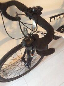 Boys road bike barracuda blackfin sti levers twin wall wheels as new cost £279