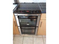 Freestanding Zanussi double oven