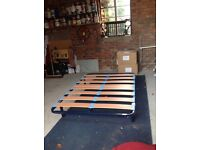 Double bed base. Hardly used. Double mattress if wanted, used but good condition.
