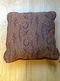 ** Reduced Price ** Laura Ashley Rich Paisley Pattern Cushion