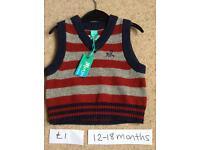 Boys clothes 12-18 months monsoon, M&S, Next etc