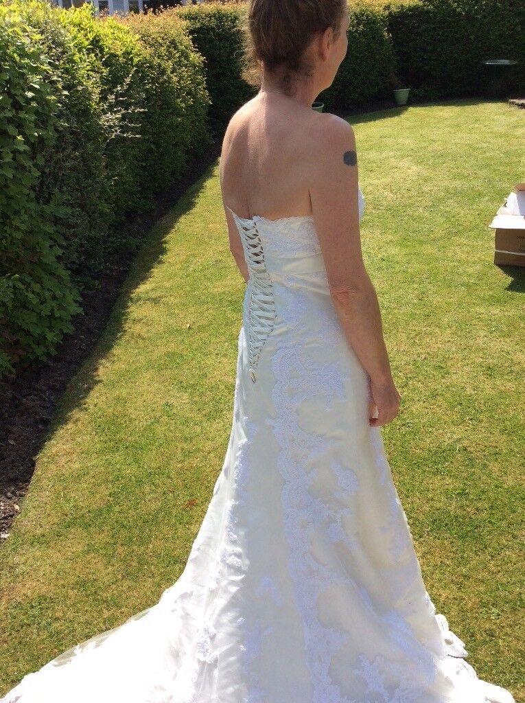 Wedding Dress Vintage Style Size 10 12 Keighley West Yorkshire