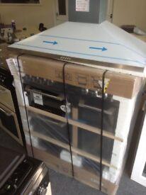 Leisure Cusiniemaster range cooker. 90cm. Black. Duel fuel. £599. New in package 12 month Gtee