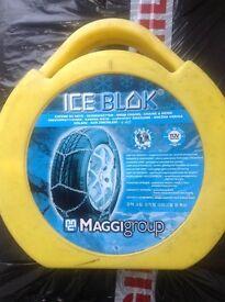 Maggigroup ice block snow chains unused