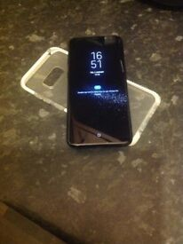 S8 plus black Grade A condition unlocked