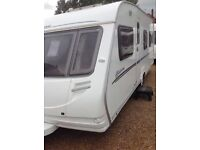 Sterling europa 495 2007 4 berth fixed bed