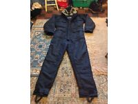 SIOEN INDUSTRIALS COVERALL OVER SUIT FISHING STALL HOLDER OUTSIDE WEAR MOPED RIDER