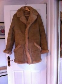 Sheepskin coat 1970.
