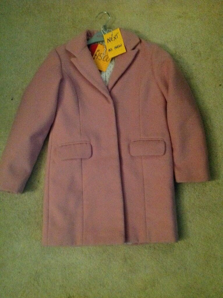 6e9a53688f89 Girls coat Next as new