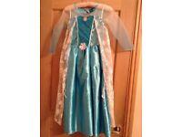 'Disney' 'Frozen' dressing up dress, age 8-9 years, excellent minimal wear.