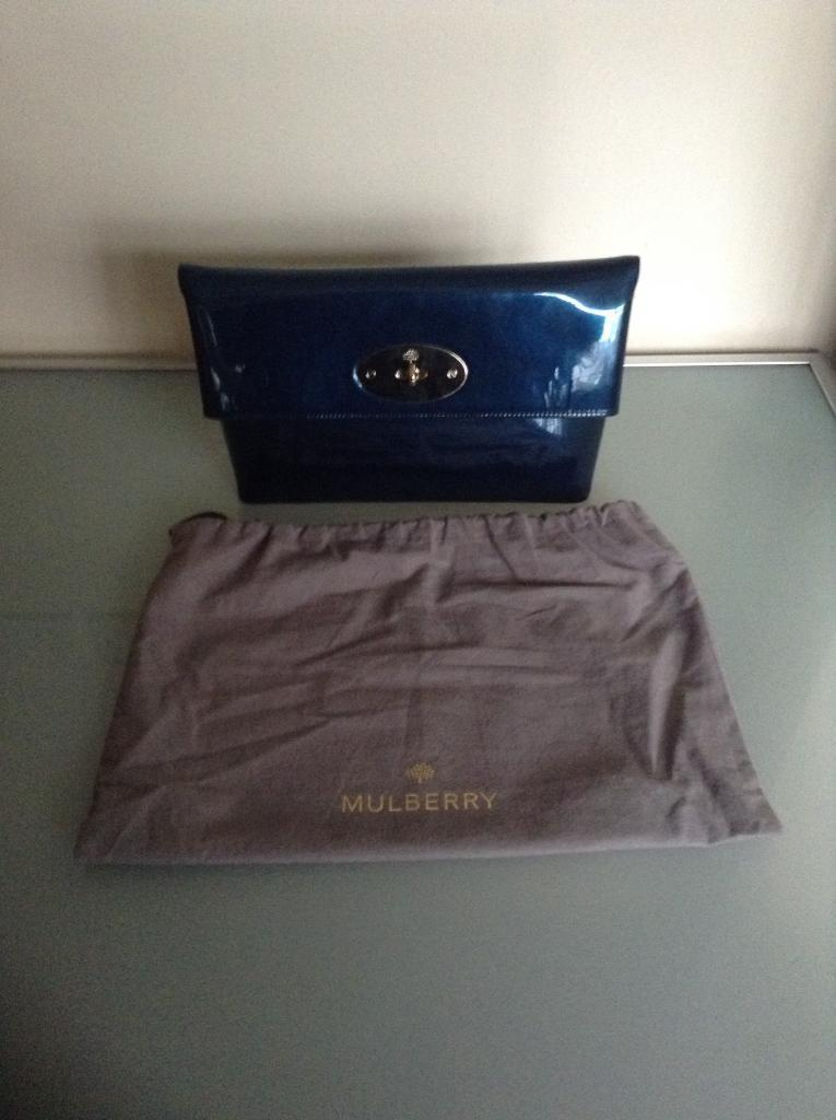 549e559d46c5 Brand New Mulberry Clemmie Clutch Handbag